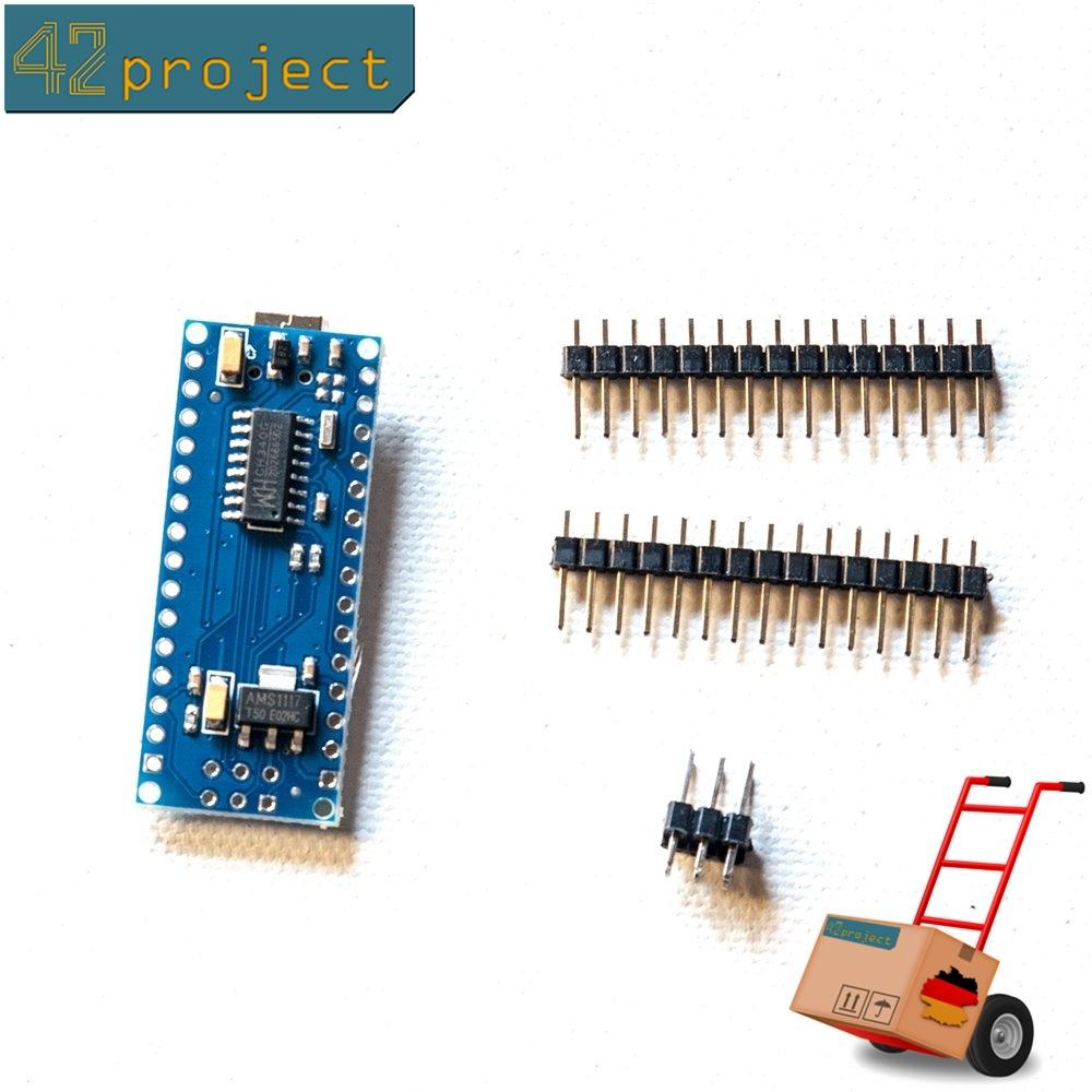Nano arduino kompatibel atmega p au mhz mini usb