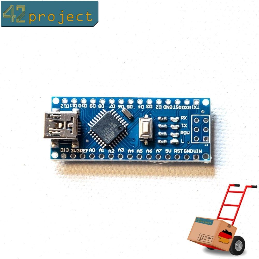 42project Elektronik Mikrocontroller Und Zubehr Kaufen Arduino Nano Atmega 328 With Ch340g V30 Modul Getestet Atmega328p Board Usb Kompatibel E01p