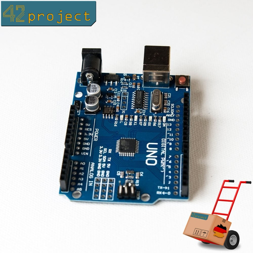 Uno r atmega p smd board entwicklungsboard arduino