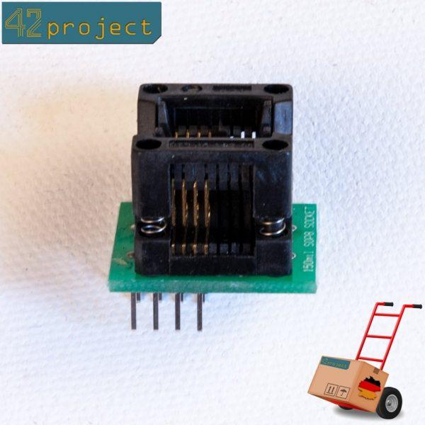 SMD-Sockel (Programmier-Adapter) SO8 (SOIC8) auf DIP 2,54mm SOIC-8 Programmer