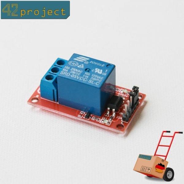 1-Kanal Relais Relay Modul 5V 230V mit Optokoppler für Arduino Raspberry Pi AVR