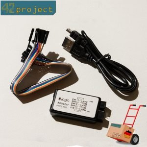 8-Kanal Logikanalysator 24MHz USB Logic Analyzer 0-5,5V für I2C SPI UART JTAG