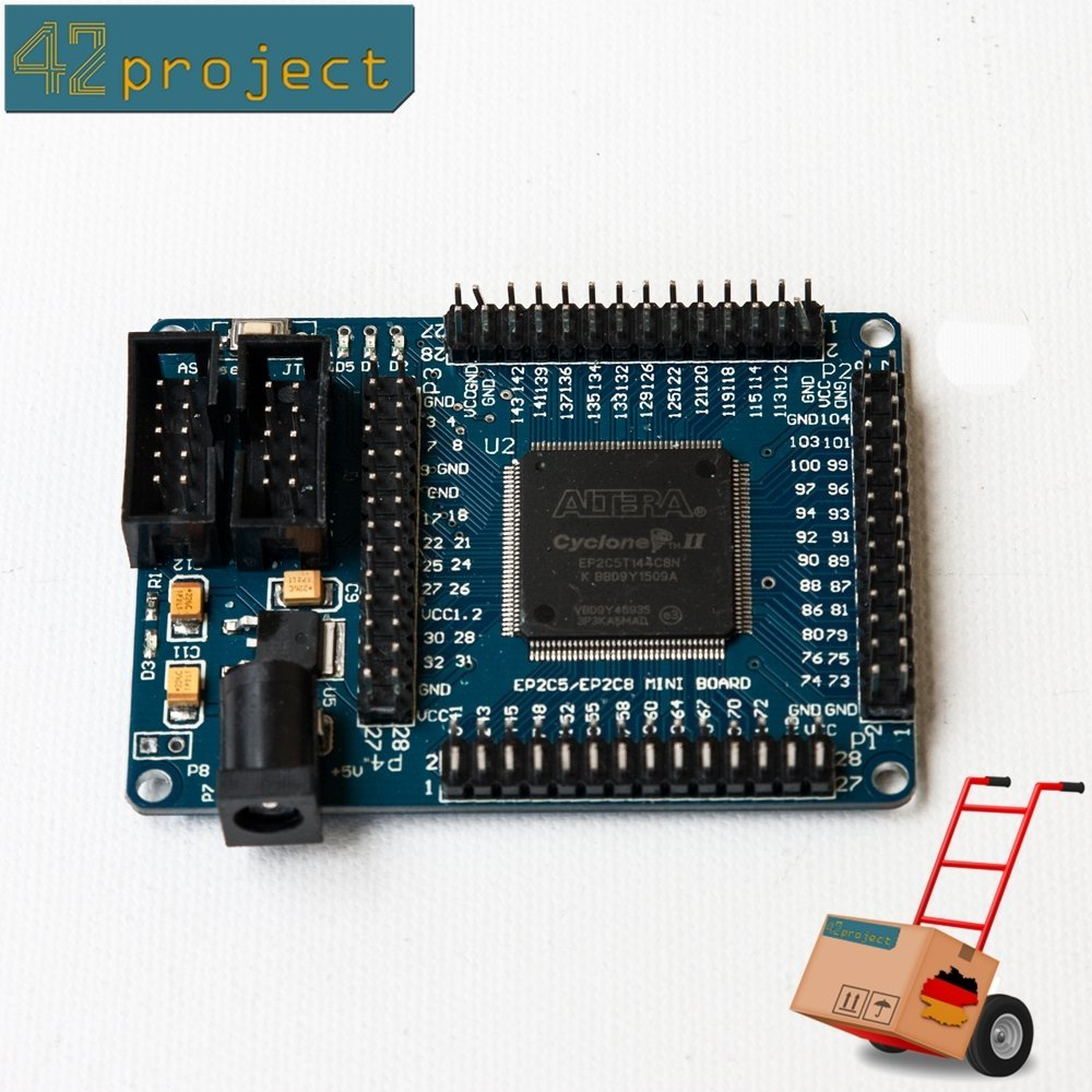 Mini ALTERA Cyclone II EP2C5T144 CPLD FPGA Development Learning Board
