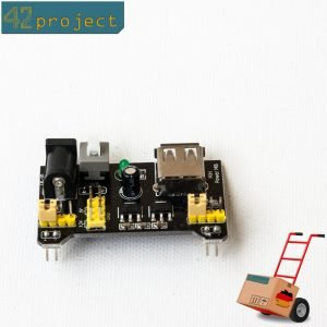 3,3V / 5V Netzteil Modul / Stromversorgung für Breadboards / MB102 Steckbrett