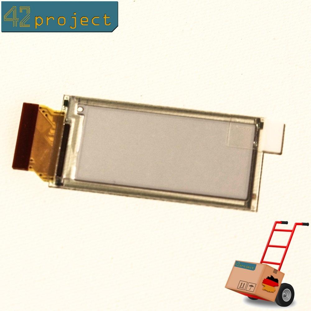 """E-Paper Display EPD 2.0"""" Zoll 200x97 E-Ink SPI E1200CS021 für stm32 Arduino"""