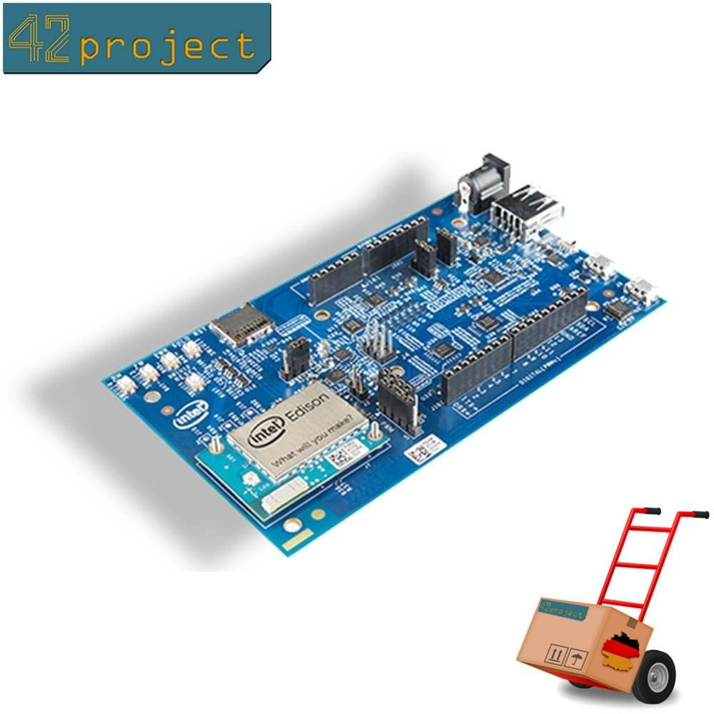 Intel Edison IoT 500MHz 20 GPIO mit Arduino Shield Breakout Board Kit mit WiFi