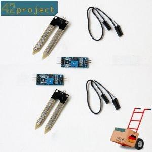 2 x Hygrometer Feuchte Feuchtigkeitssensor Boden Sensor Module für Arduino MCU