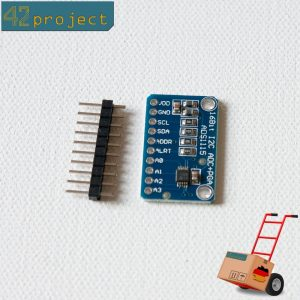 4-Kanal ADC I2C 16-Bit ADS1115 mit Analog Digital Wandler kompat. mit Arduino