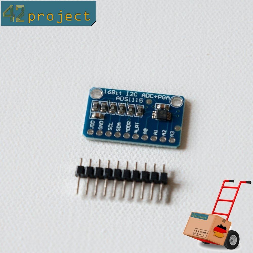 LTC2400 24bit analog to digital converter ADC module temp