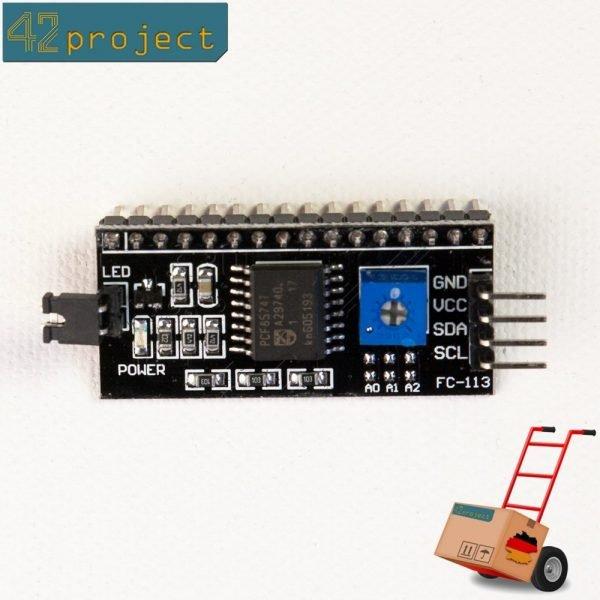 IIC I2C TWI Serial Interface Modul PCF8574T für Arduino 1602LCD Displays