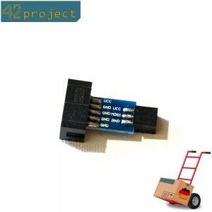 ISP Adapter Converter board 10 pin auf 6 pin für USBasp USBISP Arduino AVR