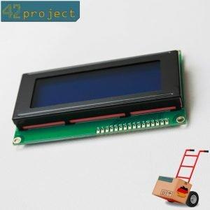 LCD Display 2004 Zeichen 20x4 Modul Blau groß HD44780 für Arduino, Pi, stm32