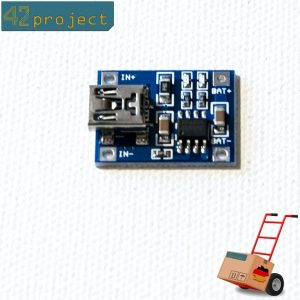 Lithium Akku Ladegerät TP4056 USB 5V 1A Batterie Lademodul li-ion für Arduino