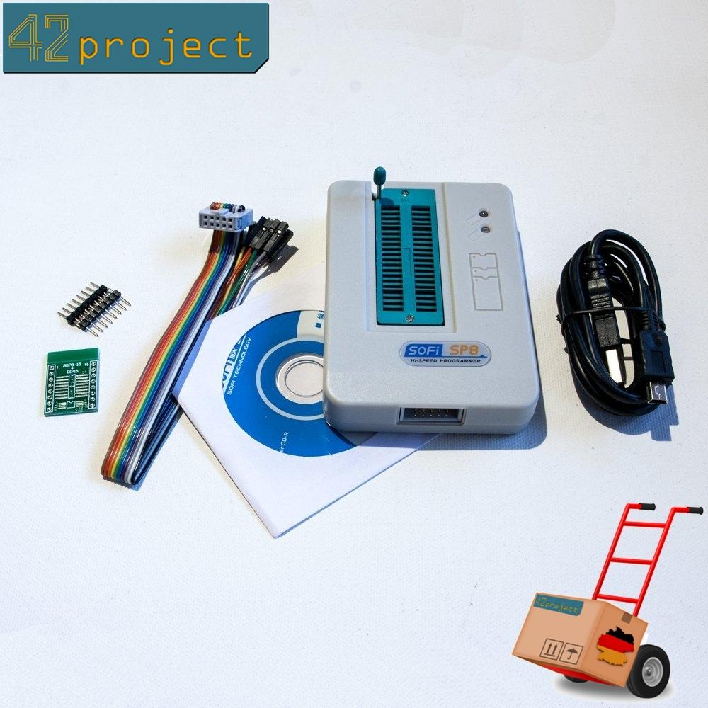 SOFi SP8-A Universal USB Programmer ISP für FLASH / EEPROM / SPI BIOS-Speicher