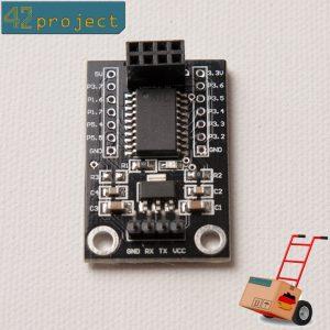 STC15L204 UART zu SPI Übersetzer Board für NRF24L01 Funkchips / Arduino / Pi