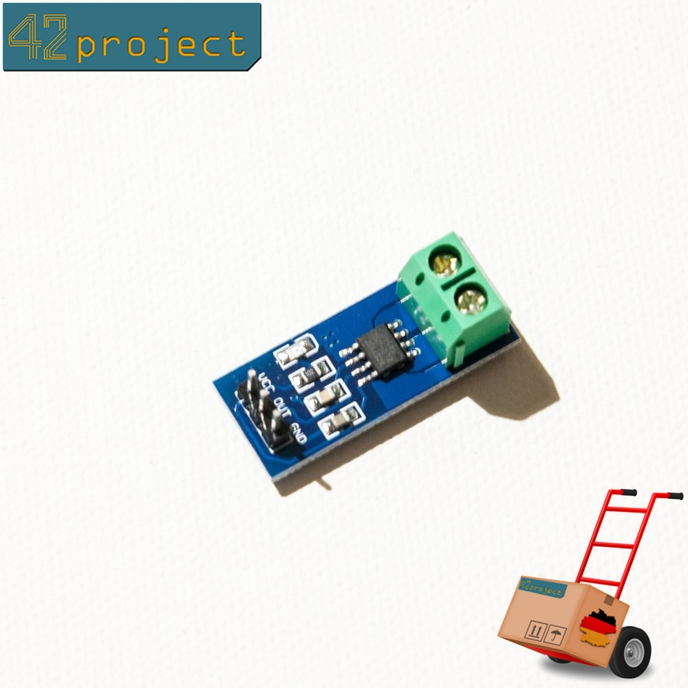Stromsensor ACS712 5A AC/DC Strom Hall Sensor Analogausgang 5V für Arduino