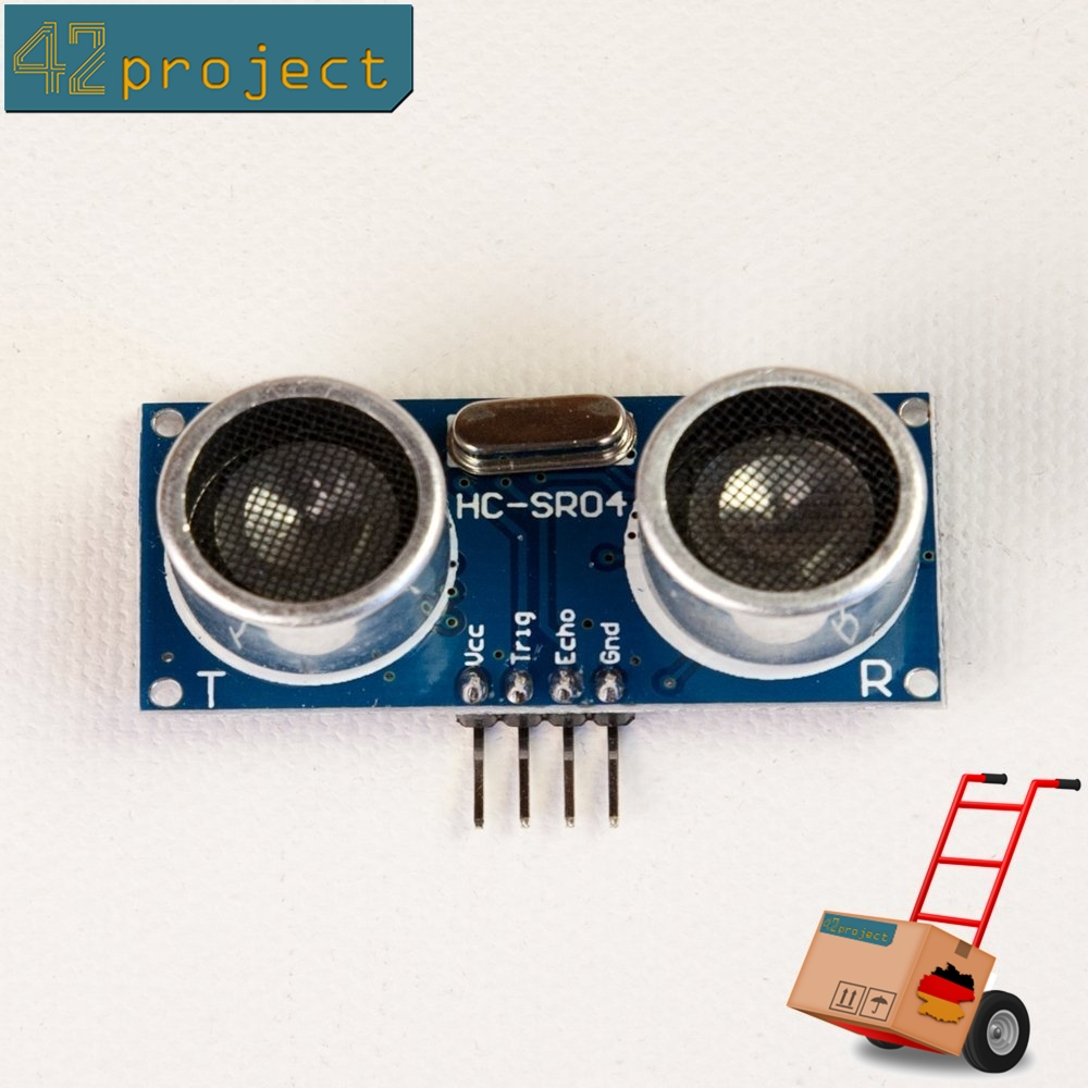 Ultraschall-Abstandssensor HC-SR04 Entfernungsmesser, Ultrasonic für Arduino