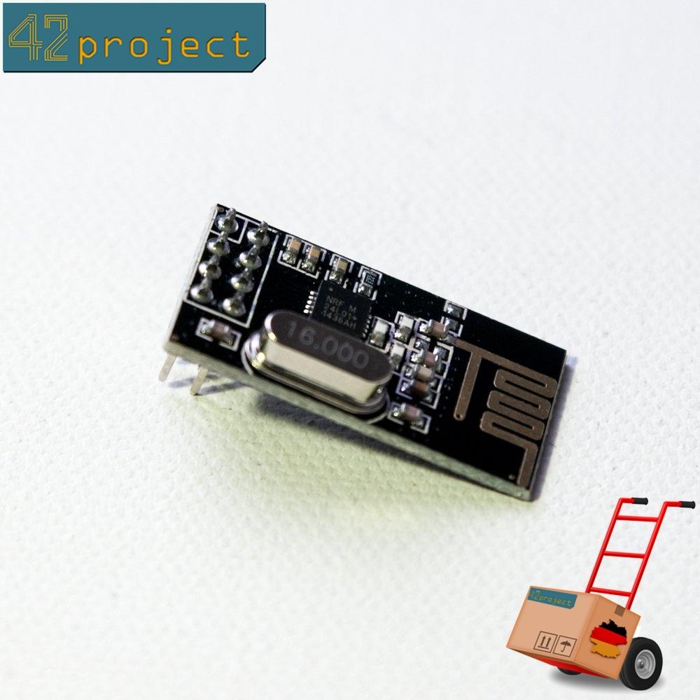 NRF24L01+ Wireless Transceiver Modul 2.4G Funkchip Funkmodul für Arduino, STM32