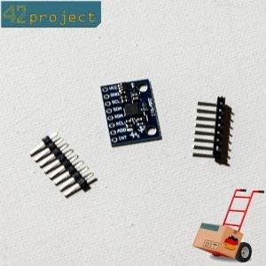 GY-521 3 Achsen Gyroskop Gyroscope Accelerometer MPU-6050 Sensor I2C für Arduino