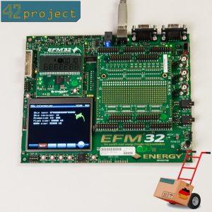 ENERGY micro EFM32 Gecko Development Kit EFM32-G8XX-DK mit EFM32G890F128 MCU