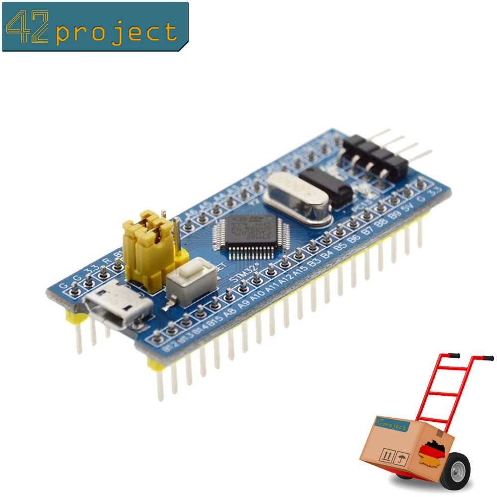 STM32F103C8T6 Board mit ST ARM 32-bit Cortex M3