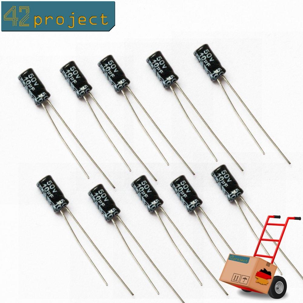 10µF Elektrolyt Kondensator