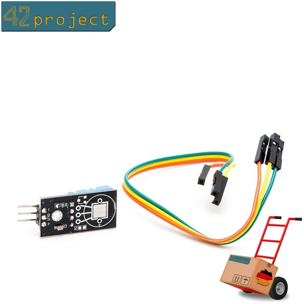 DHT22//AM2302 Digital Sensor Feuchtigkeit Temperatursensor f/ür Raspberry und Arduino