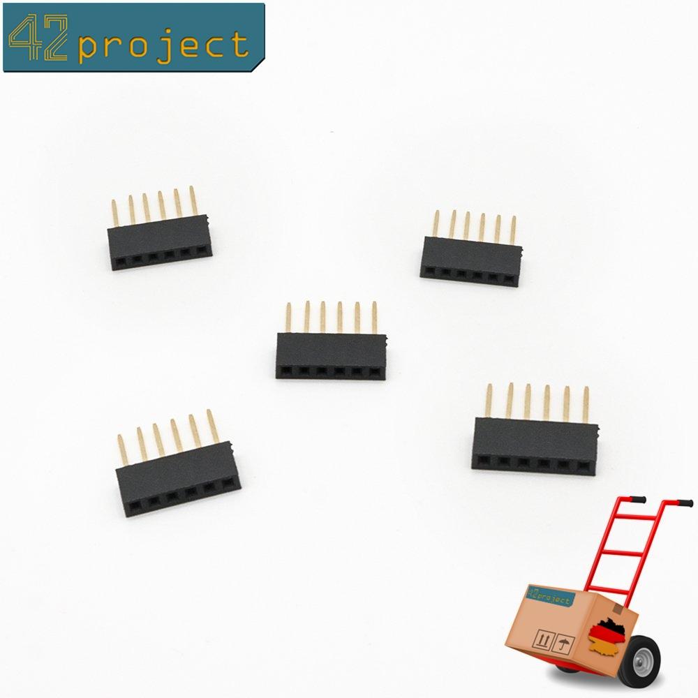 20x 4 Pin 2.54MM stapelbare Buchsenleiste für Arduino Shiel PKD